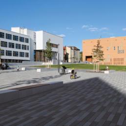 Steintor-Campus, Neugestaltung Freianlagen, Halle (Saale)