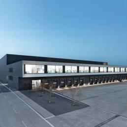 Verwaltungs- und Logistikzentrum, Magdeburg