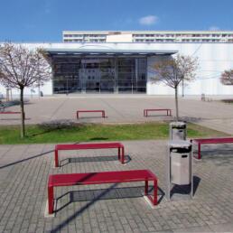 Zweifeldsporthalle des Gymnasiums