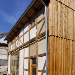 Denkmalgeschütztes Fachwerkwohnhaus, Sanierung, Welterbestadt Quedlinburg