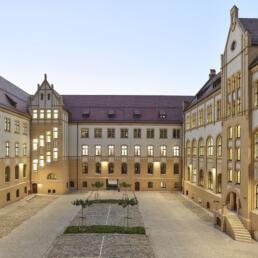 Landgericht, Sanierung, Magdeburg