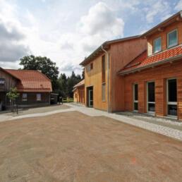 Natur-Erlebniszentrum Hohnehof, Neubau Nebengebäude und Gerätehaus, Wernigerode OT Schierke