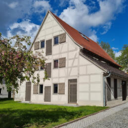 Kleine Feldscheune, Umnutzung, Halle (Saale)