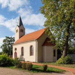 Aktionskirche (ehemalige evangelische Kirche), Sandersdorf-Brehna OT Renneritz