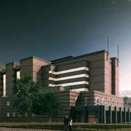 Stadthalle, Umbau und Sanierung, Magdeburg
