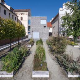 Melanchthonhaus, Garten, Lutherstadt Wittenberg